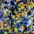 Jennifer Lopez lors de la cérémonie d'ouverture de la Coupe du monde 2014