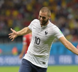 Karim Benzema vendredi après son but contre la Suisse