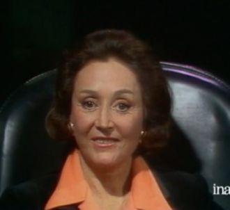 Menie Grégoire en 1976 sur le plateau de 'L'homme en...