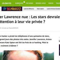 Scandale des photos nues : Melty retire un article choquant qui blâmait les stars !
