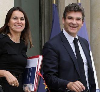 Aurélie Filippetti et Arnaud Montebourg paparazzés en Une...