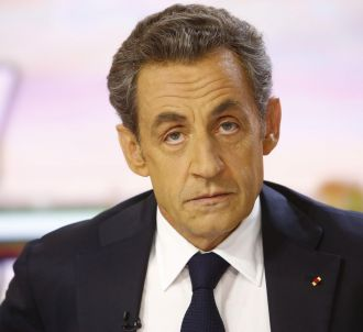 Nicolas Sarkozy, sur le plateau du 20 heures de France 2...