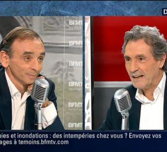 Eric Zemmour face à Jean-Jacques Bourdin.