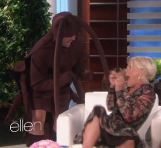 Pink effrayée chez Ellen DeGeneres