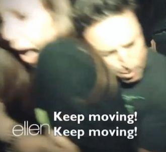 Ellen DeGeneres envoie son producteur dans une maison...