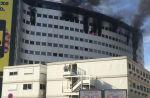 Un incendie touche actuellement Radio France