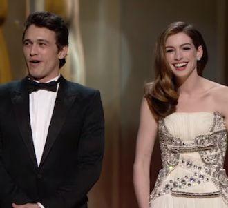 Anne Hathaway a présenté les Oscars avec James Franco