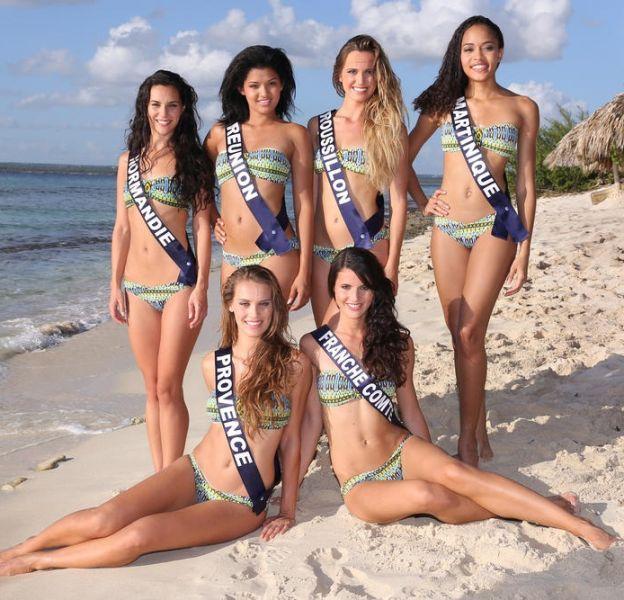 Les candidates au titre de Miss France 2015