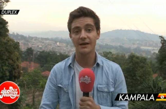 Martin Weil à Kampala, en Ouganda.