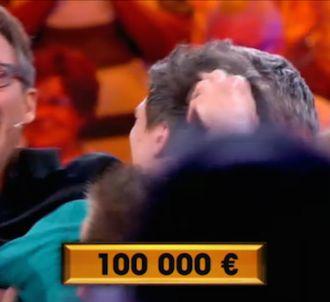 Un candidat gagne pour la première fois les 100.000 euros...