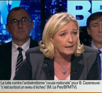 Marine Le Pen, sur BFMTV le 7 décembre 2014.