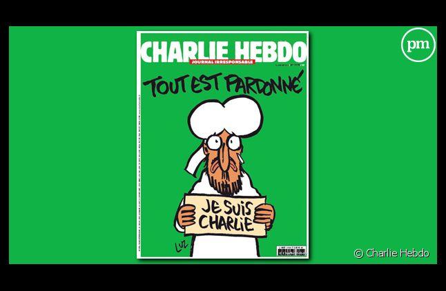 """Le """"numéro des survivants"""" de """"Charlie Hebdo"""", écoulé à 8 millions d'exemplaires."""