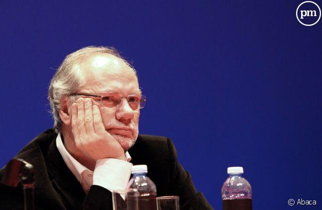 """Laurent Joffrin, directeur du journal """"Libération""""."""