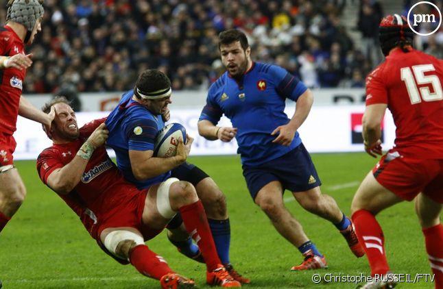 France/Pays de Galles, au stade de France hier