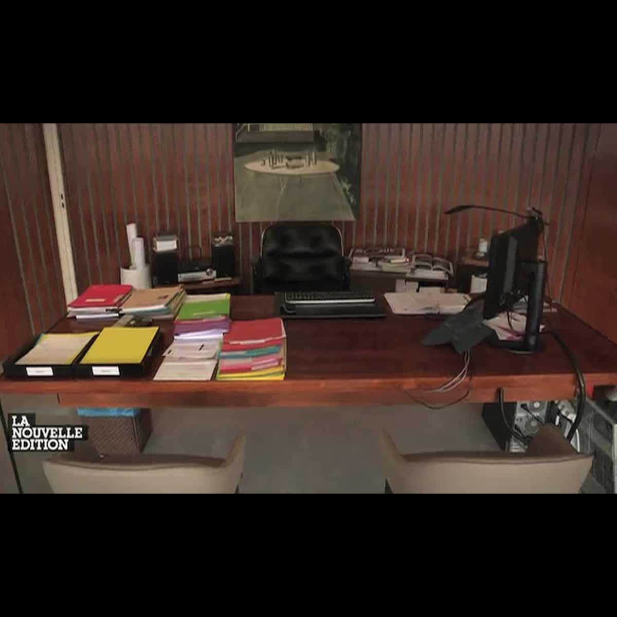 visite guid e dans le nouveau bureau de mathieu gallet apr s les travaux puremedias. Black Bedroom Furniture Sets. Home Design Ideas