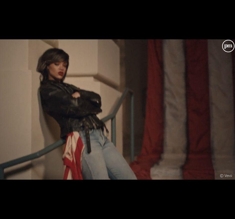 "Clip de ""American Oxygen"" de Rihanna"