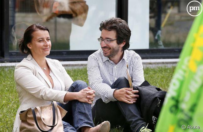 Cécile Duflot et Stéphane Sitbon-Gomez