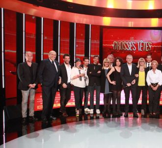 France 2 accueille 'Les Grosses Têtes' de Laurent Ruquier