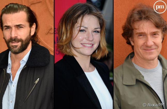 """Grégory Fitoussi, Emilie Dequenne et Thierry Frémont, héros de la saison 2 d'""""Accusé"""""""
