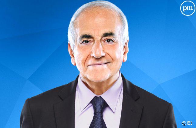 Le journaliste Jean-Pierre Elkabbach.