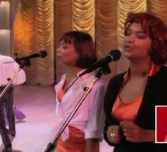 Quand Karine Le Marchand était choriste pour David...