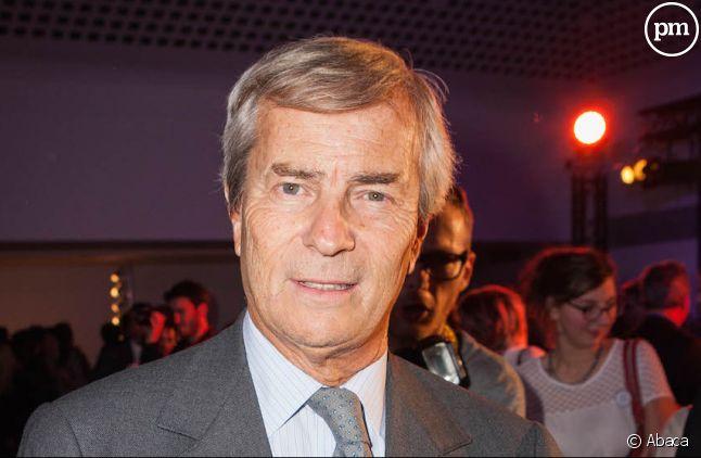 L'industriel Vincent Bolloré.