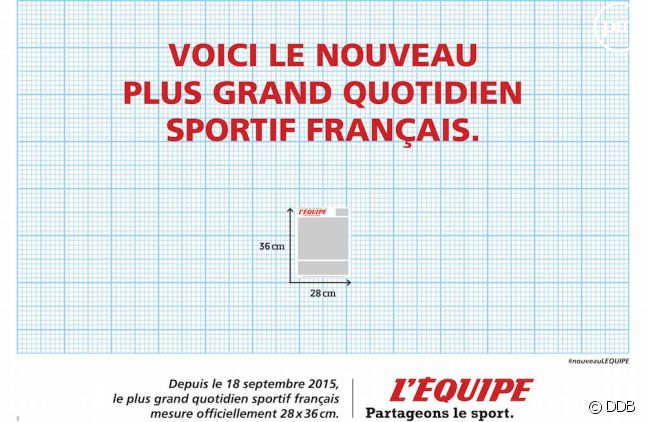 """""""L'Equipe"""" change de format"""