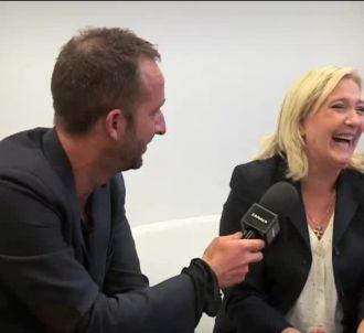 Cyrille Eldin face à Marine Le Pen, dans 'Le Grand...