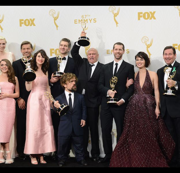 "L'équipe de ""Game of Thrones"" a triomphé aux Emmy Awards 2015"