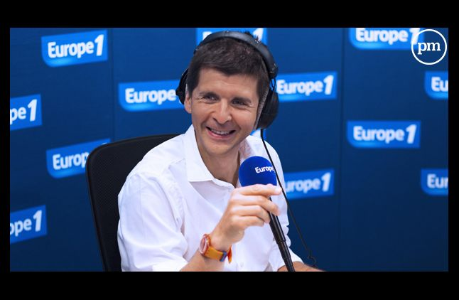 Thomas Sotto, anchorman de la matinale d'Europe 1.