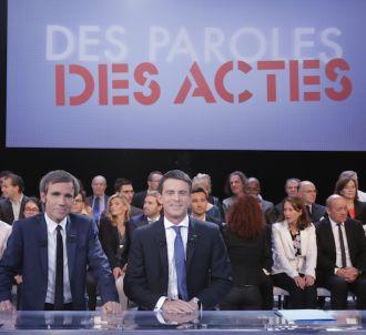 Manuel Valls et David Pujadas
