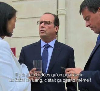 Les conseils de François Hollande à Fleur Pellerin.