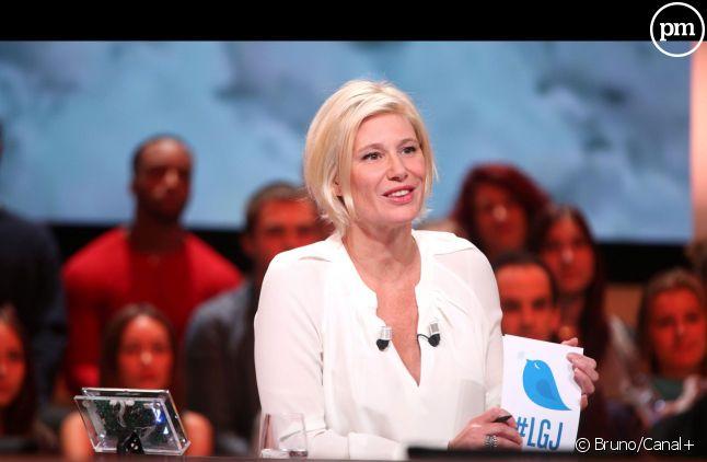"""639.000 téléspectateurs en moyenne pour """"Le Grand Journal""""."""
