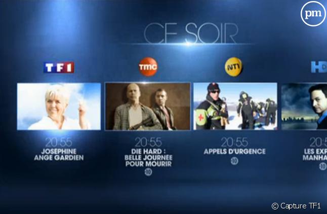 Les chaînes alignent leur prime sur TF1