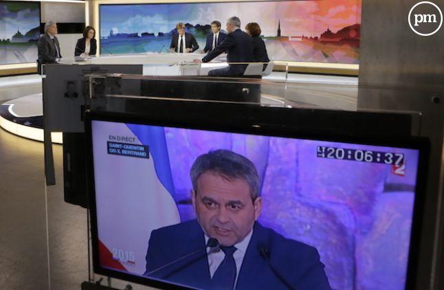 Edition spéciale de France 2 pour les élections régionales