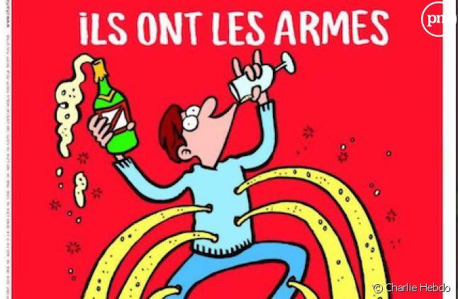 """La Une de """"Charlie Hebdo"""" du 18 novembre 2015"""