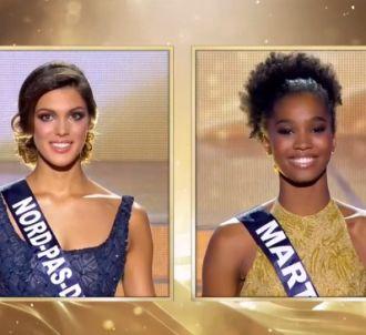 Hier, Iris Mittenaere, Miss Nord-Pas-de-Calais, a battu...