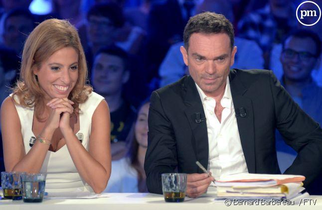"""Léa Salamé avec Yann Moix dans """"On n'est pas couché"""""""