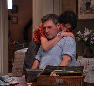 Daniel Auteuil et Victoire Belezy dans 'Fanny'