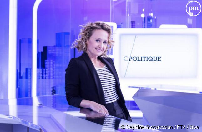 """Caroline Roux présente """"C Politique"""""""