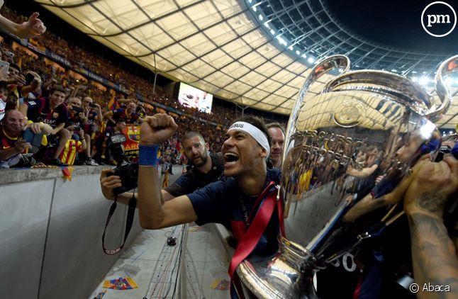 La ligue des Champions gagnée l'année dernière par Barcelone