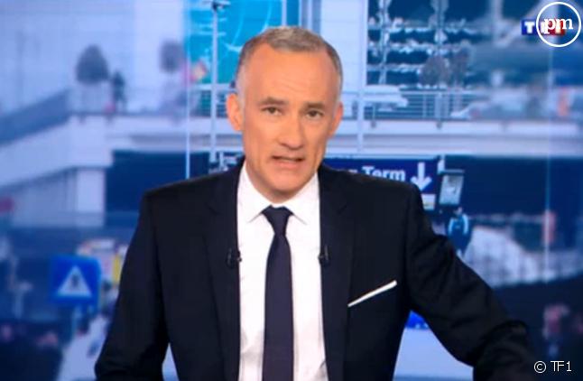 Gilles Bouleau, sur TF1 le 22 mars 2016.
