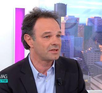 Nicolas Charbonneau dans 'Médias le mag, l'interview'