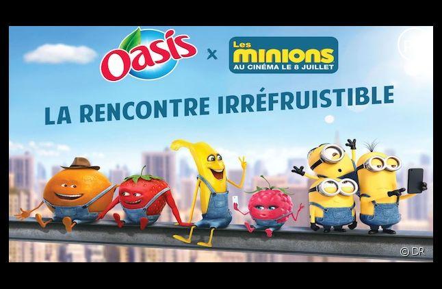 La publicité Oasis