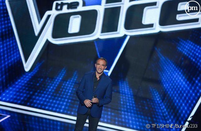 """Nikos sur le plateau de """"The Voice"""" 2016"""