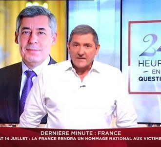 Yves Calvi présente la première de '24 Heures en...