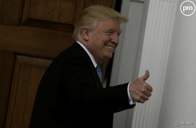 """Pendant la campagne, Donald Trump a beaucoup tapé sur le """"New York Times""""."""