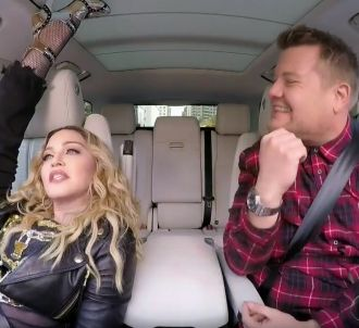 Madonna dans le 'Carpool Karaoke' de James Corden