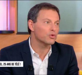 Marc-Olivier Fogiel, sur France 5.