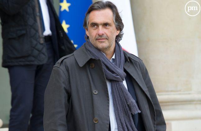 Emmanuel Chain, journaliste et producteur.